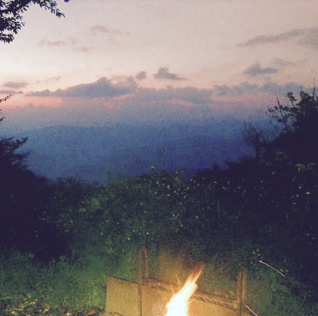 campfire view