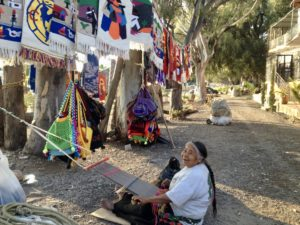 Conchita the Weaver in Ajijic