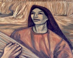 mother from Alfredo Zalce mural