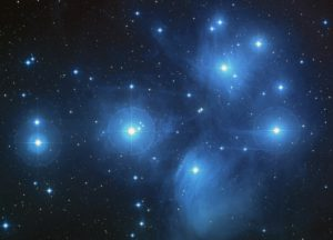 NASA photo of Pleiades